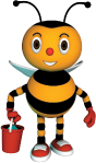 Kids Bee Happy Mascot