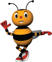 Kids Bee Happy Bee