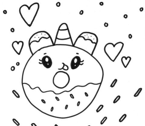 fat unicorn coloring pages 94 best Pusheen Coloring Book images on ... | 418x480