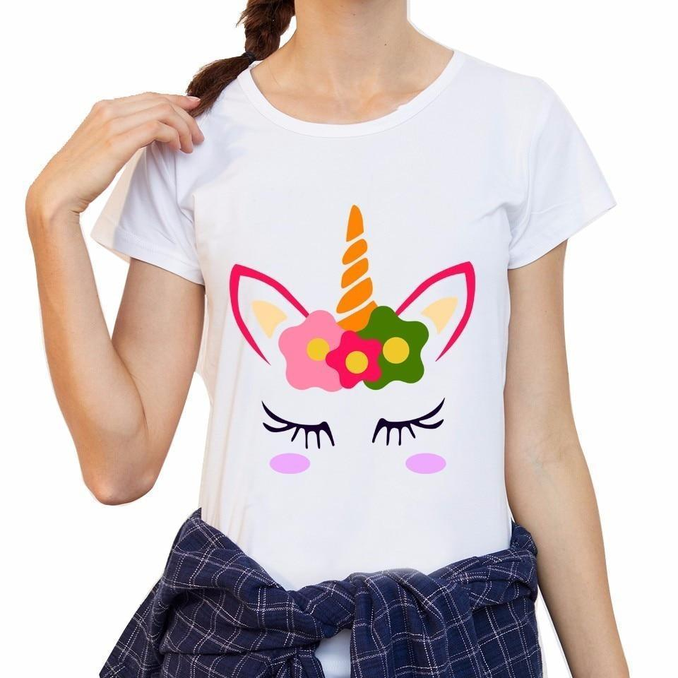 cute unicorn shirt pink