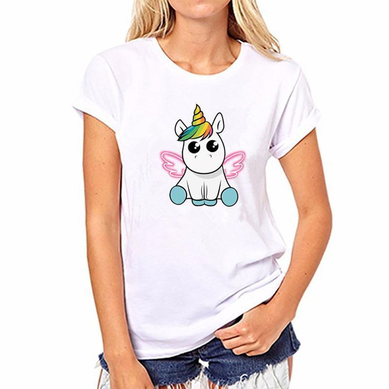 T-Shirt Unicorn Rainbow