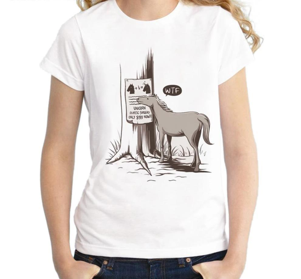 T-Shirt Unicorn Vintage