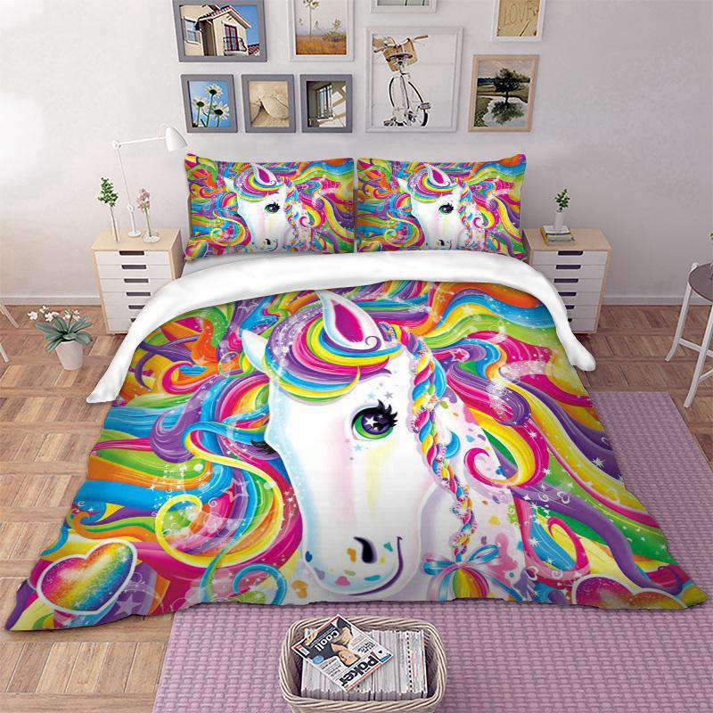 Unicorn Full Bed Set