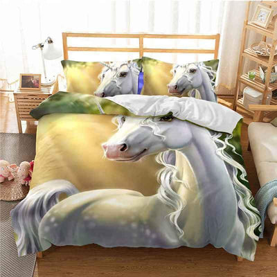 Unicorn Bedding Set <br> 3d