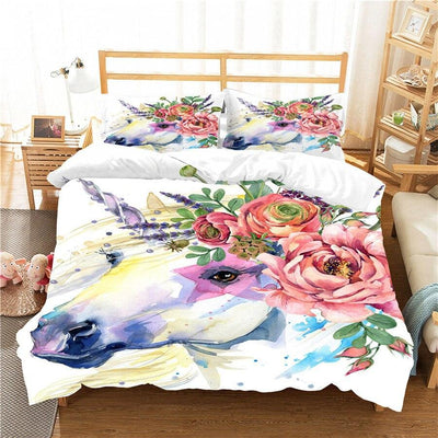 Unicorn Bedding Full Set