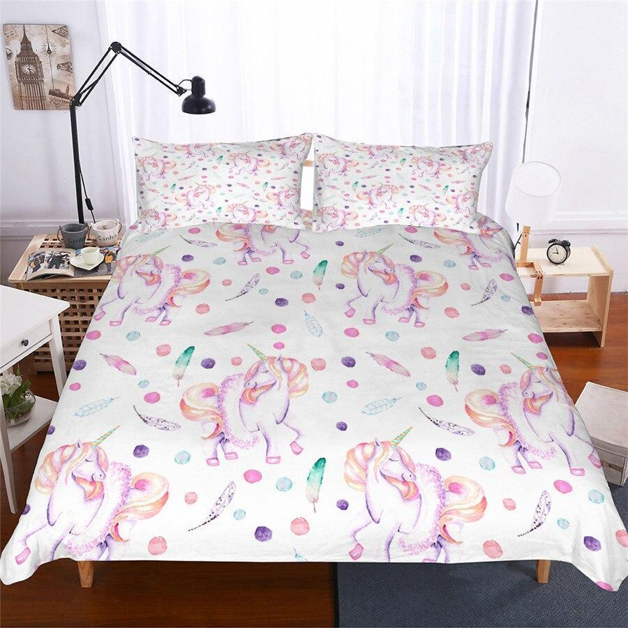 Unicorn Single Bedding Set