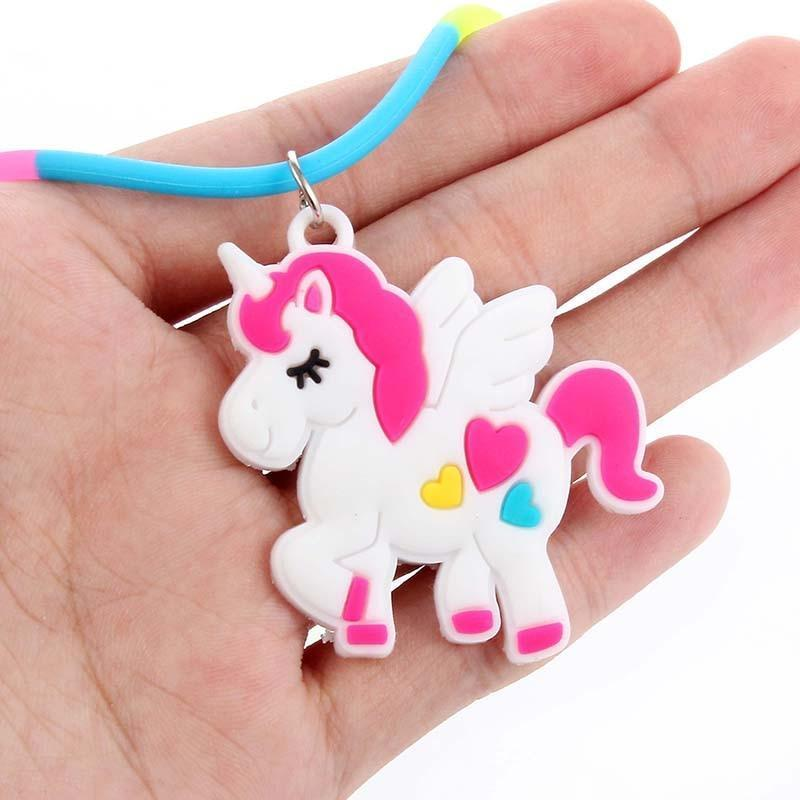 Unicorn Necklace for Kids