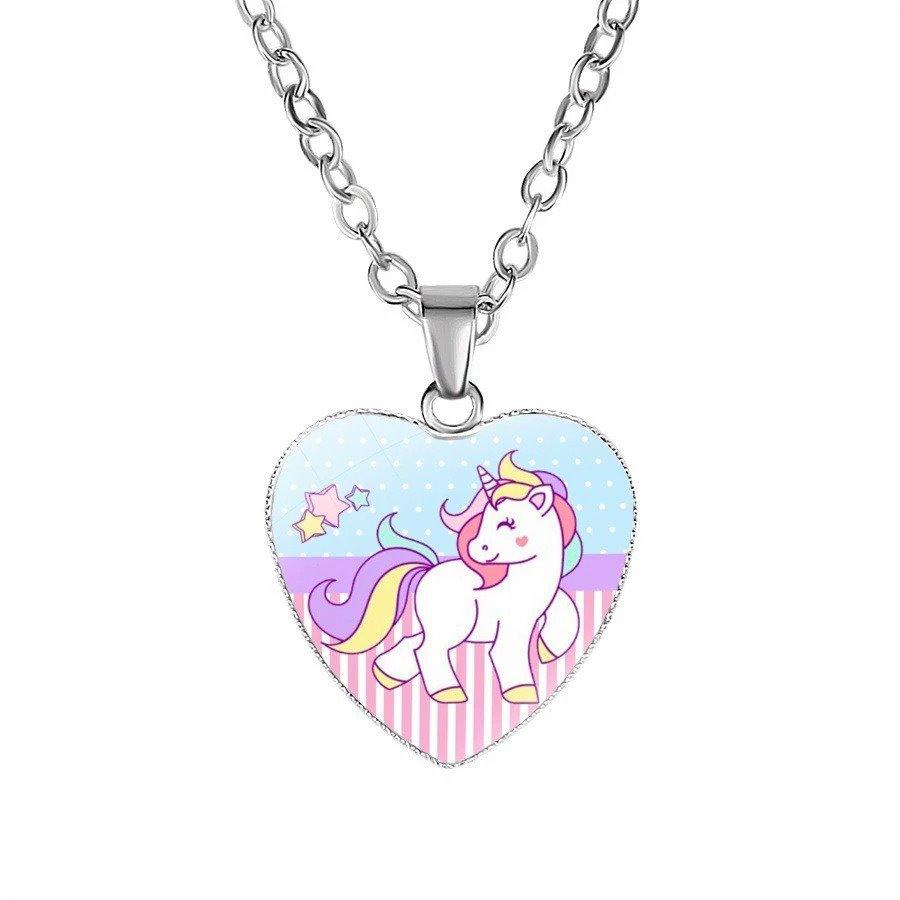 Unicorn Necklace Kawaii