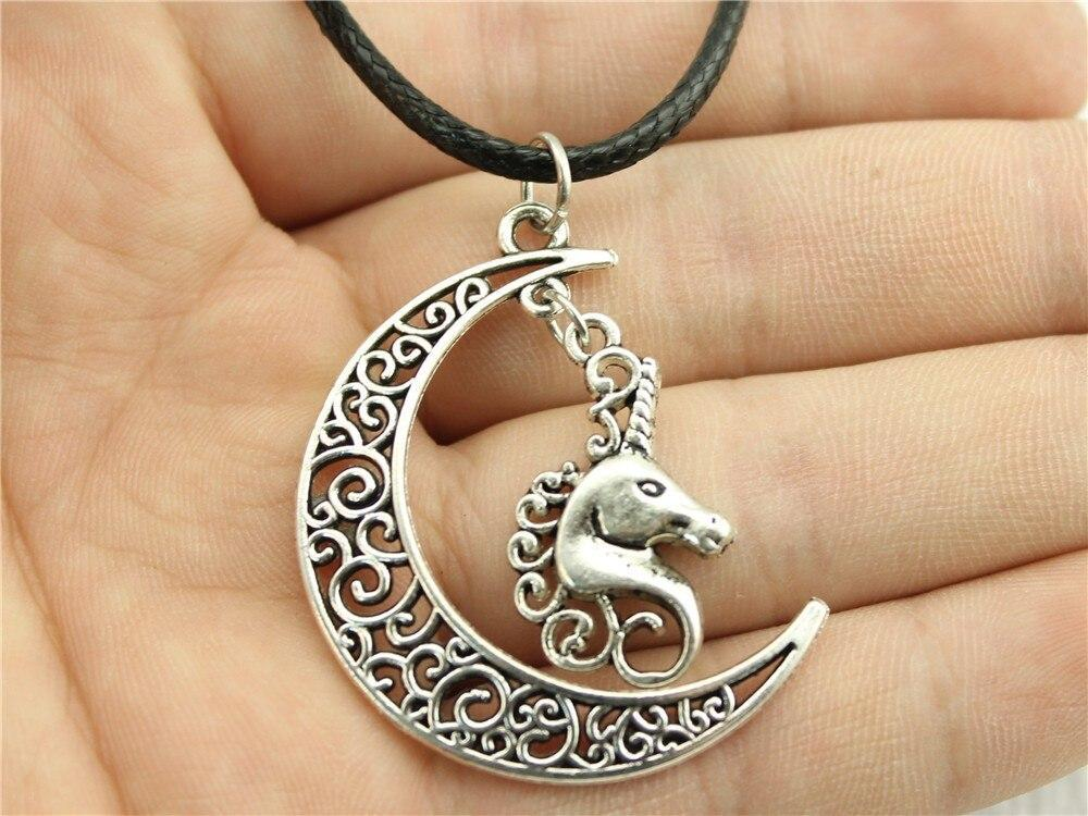 Moon Unicorn Necklace