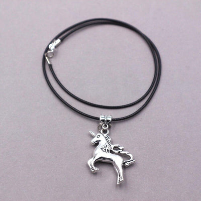 Unicorn Necklace <br> Silver Plated