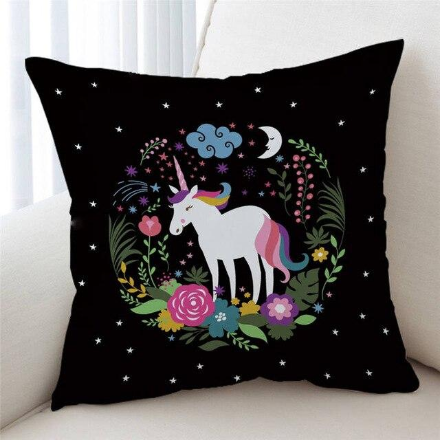 Unicorn Back Pillow