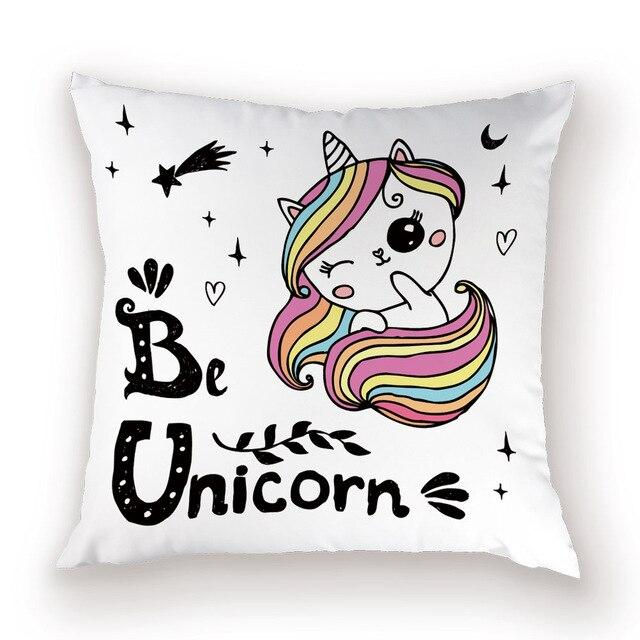 Be a Unicorn Pillow