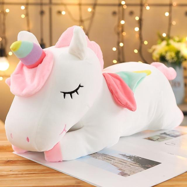 Big Unicorn Stuffed Animal Pillow