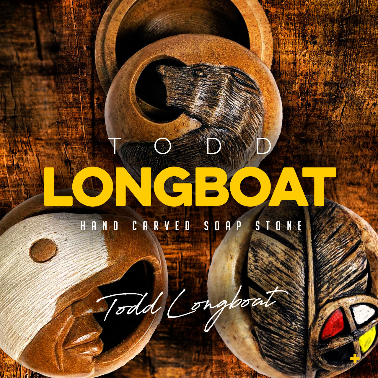 Todd Longboat - Hand Carved Soap Stone