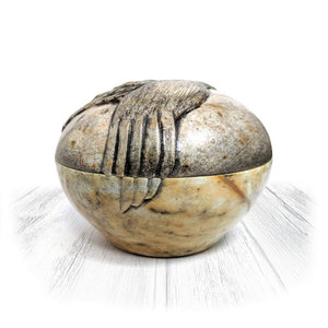 Hummingbird Stone Bowl