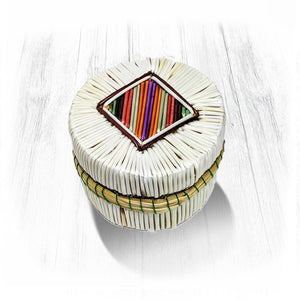 Colourful Mini Quill Basket