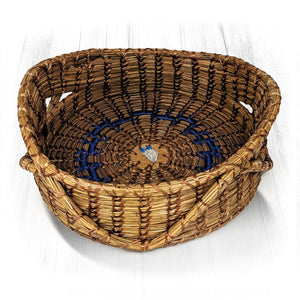 Handwoven Basket - Feather