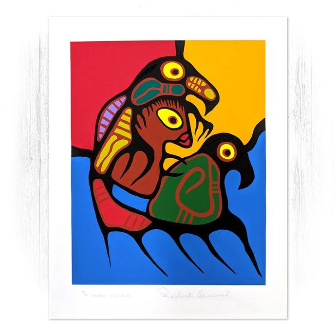 Manabush - Spirit Birds - Richard Bedwash Print