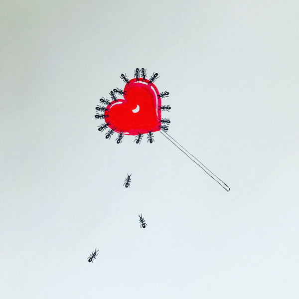 Ants on a Lollipop
