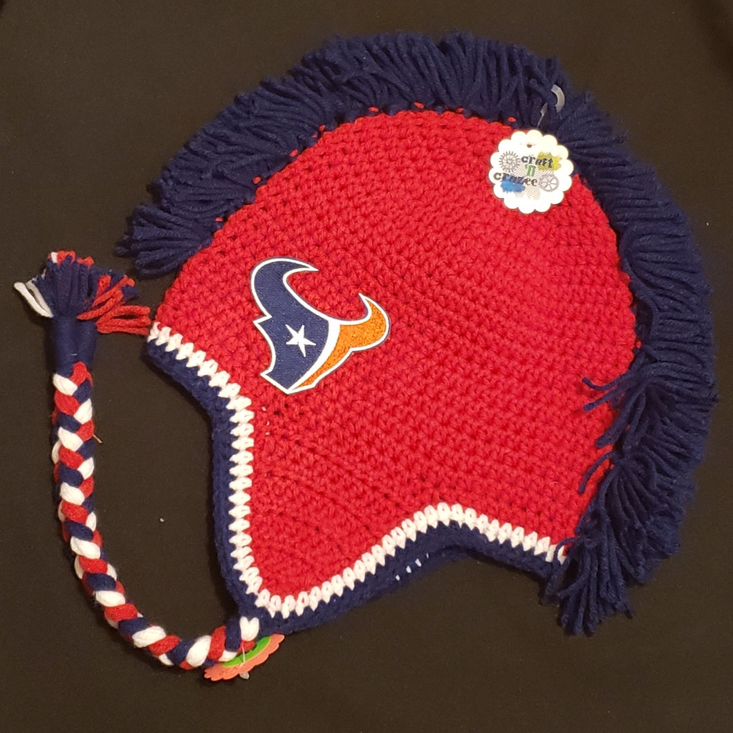 Texan's Mohawk Beanie - Craft N Crazee