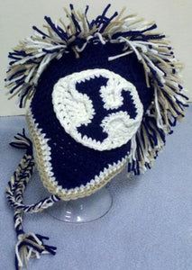 BYU Mohawk Beanie - Craft N Crazee