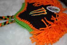 Load image into Gallery viewer, Orange Monster Mohawk Beanie - Monster Winter Hat - Monster Energy Hat - Craft N Crazee