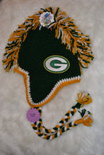Load image into Gallery viewer, Packers Mohawk Beanie - Packers Winter Hat - Greenbay Packers Hat - Craft N Crazee