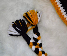 Load image into Gallery viewer, Steelers Mohawk Beanie - Steelers Winter Hat - Pittsburgh Steelers Hat - Craft N Crazee