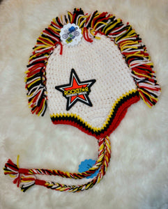 Rockstar Mohawk Beanie - Rockstar Winter Hat - Rockstar Energy Hat - Craft N Crazee