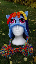 Load image into Gallery viewer, Rainbow Dash Beanie - Craft N Crazee
