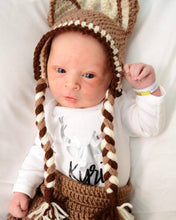 Load image into Gallery viewer, Crochet Baby Buck Deer Outift - Craft N Crazee