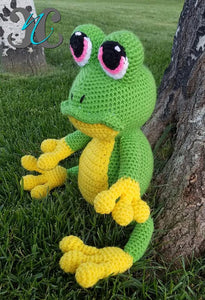 Frog Man Stuffed Animal - Craft N Crazee