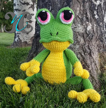 Load image into Gallery viewer, Frog Man Stuffed Animal - Craft N Crazee