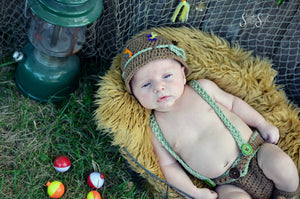 Crochet Fisherman Outfit - Craft N Crazee
