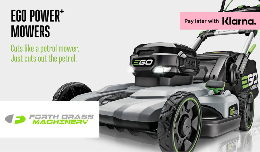 EGO Power+ product range at Forth Grass Machinery