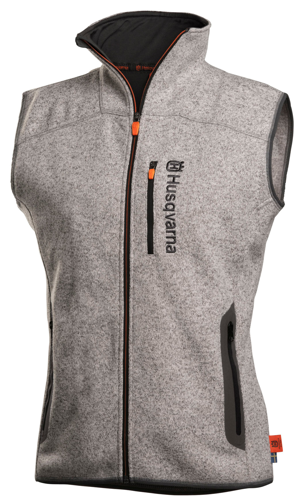 Husqvarna Xplorer Fleece Vest - Womens Steel Grey