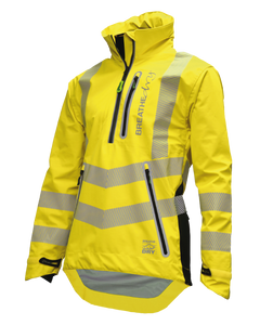 Arbortec BreatheDry® Waterproof Smock - Hi-Vis Yellow