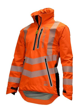 Arbortec BreatheDry® Waterproof Smock - Hi-Vis Orange