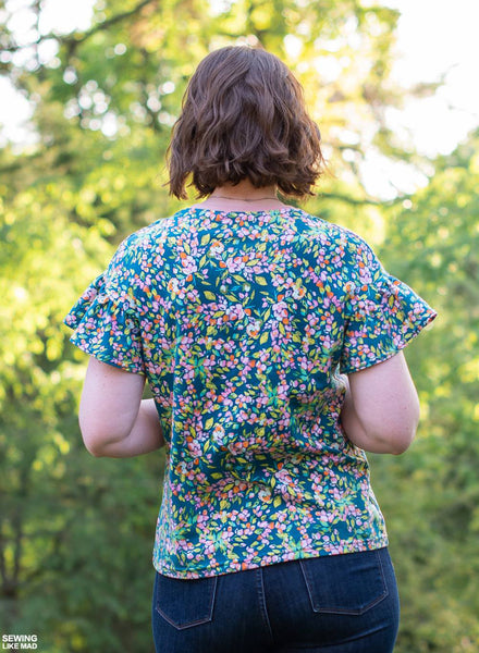 The Lana Top and Dress - PDF Pattern