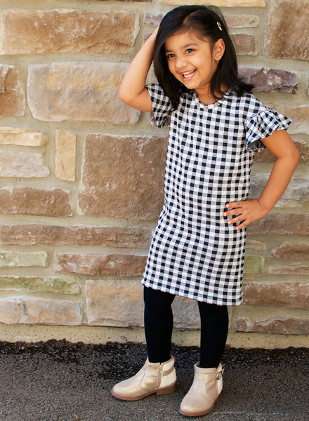 The Lana KIDS Top and Dress - PDF Pattern