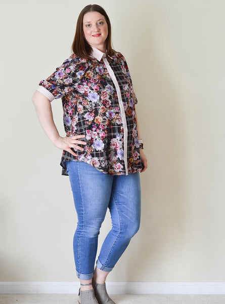 The Naomi Shirt - PDF pattern
