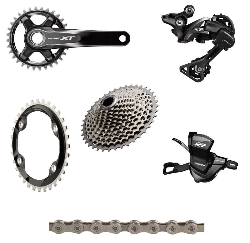 XT 8000 170mm Complete Groupset