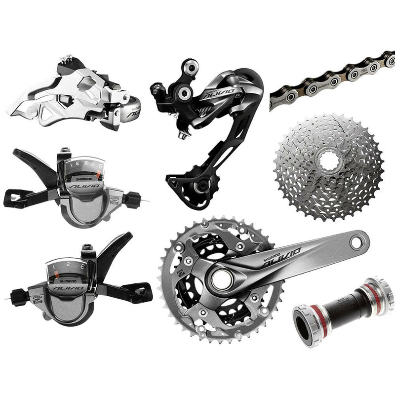 MTB Mountain Bike SHIMANO ALIVIO M4000 3x9S Shift Derailleur Kit MTB Group Set