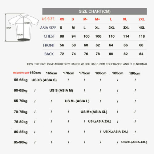New Mens Cycling Jerseys Short Sleeve Racing Rode Bike Wear Women Breathable