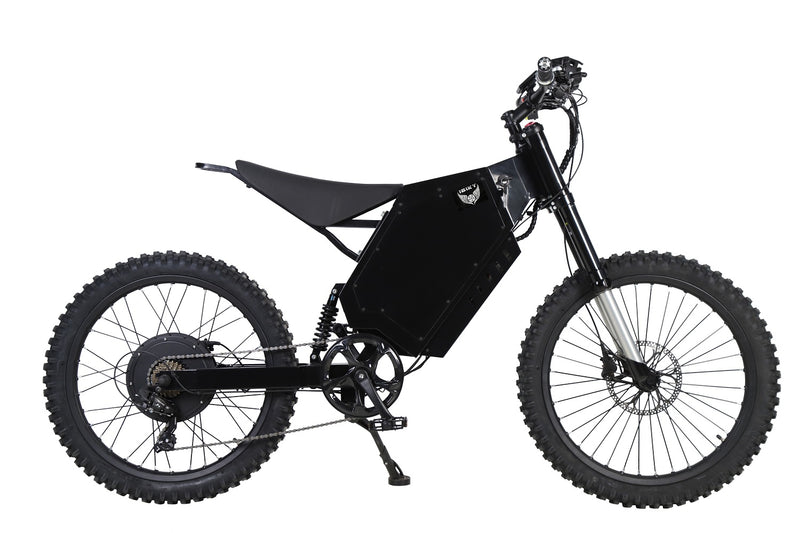 72V 2000W Power Stealth Bomber Electric Bike Ebike dirt bike