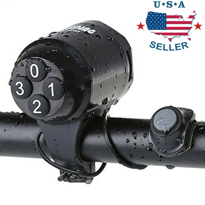 Security Loud Cycling Horn Bike Bicycle MTB Handlebar Ring Bell Horn Siren Alarm