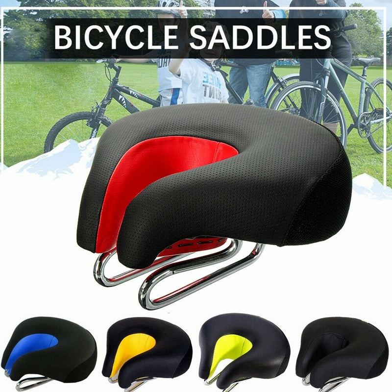 Bike Saddle Seat No Nose High Resilience Bicycle Seats Comfortable Cycling Pad