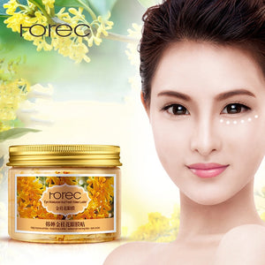 EYE MASK DARK CIRCLES ANTI WRINKLE WHITENING EYE MASK PATCHES FOR PUFFY EYES GEL WHEY PROTEIN GOLD OSMANTHUS MAS