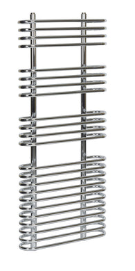 CLARISSA LOOP CHROME TOWEL RAIL