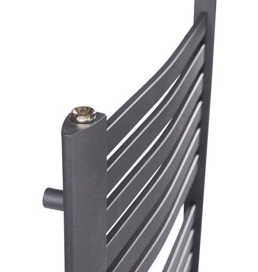 MARTINA ANTHRACITE TOWEL RAIL